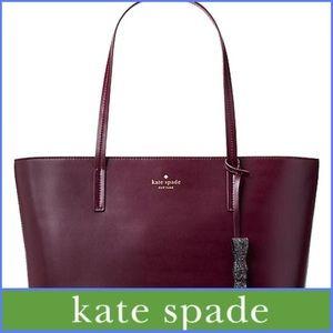 kate spade Bags - NWT Kate Spade Seton Drive Karla Tote in Deep Plum d05fbf674b248
